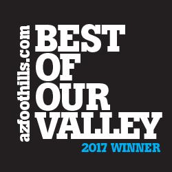 2016 & 2017 Best of Valley Winner